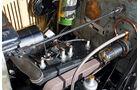 Morris Minor Saloon,  Kolben, Vierzylinder Motor, Detail