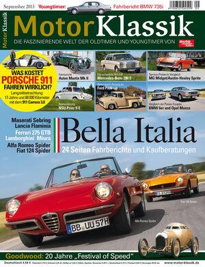 Motor Klassik 09/2013
