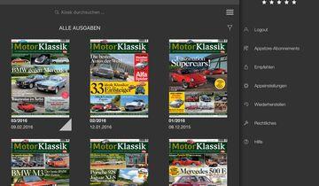 Motor Klassik Digital-App