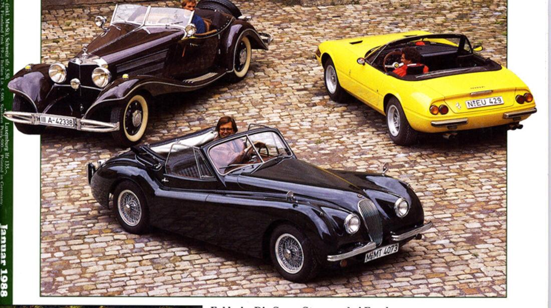 Motor Klassik, Heft 01/1988