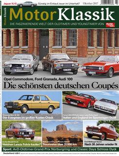 Motor Klassik Heft Titel 10 / 2017