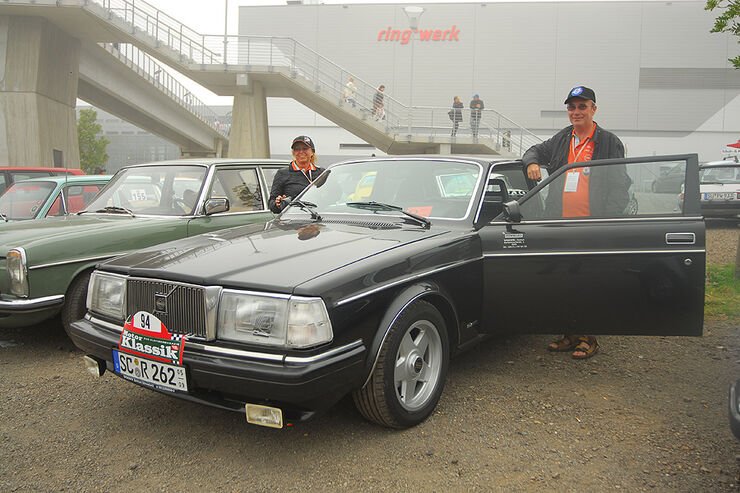 Motor-Klassik-Leser-Corso beim Oldtimer-GP
