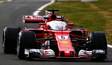 Motor Racing - Formula One World Championship - British Grand Prix - Practice Day - Silverstone, England