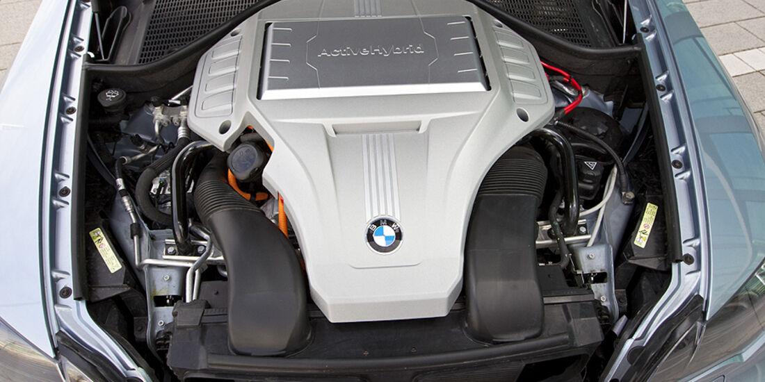 Motor des BMW Active Hybrid X6