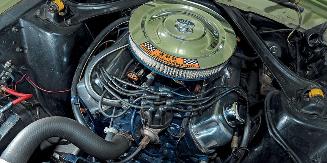 Motor des Ford Mustang Hardtop Coupé