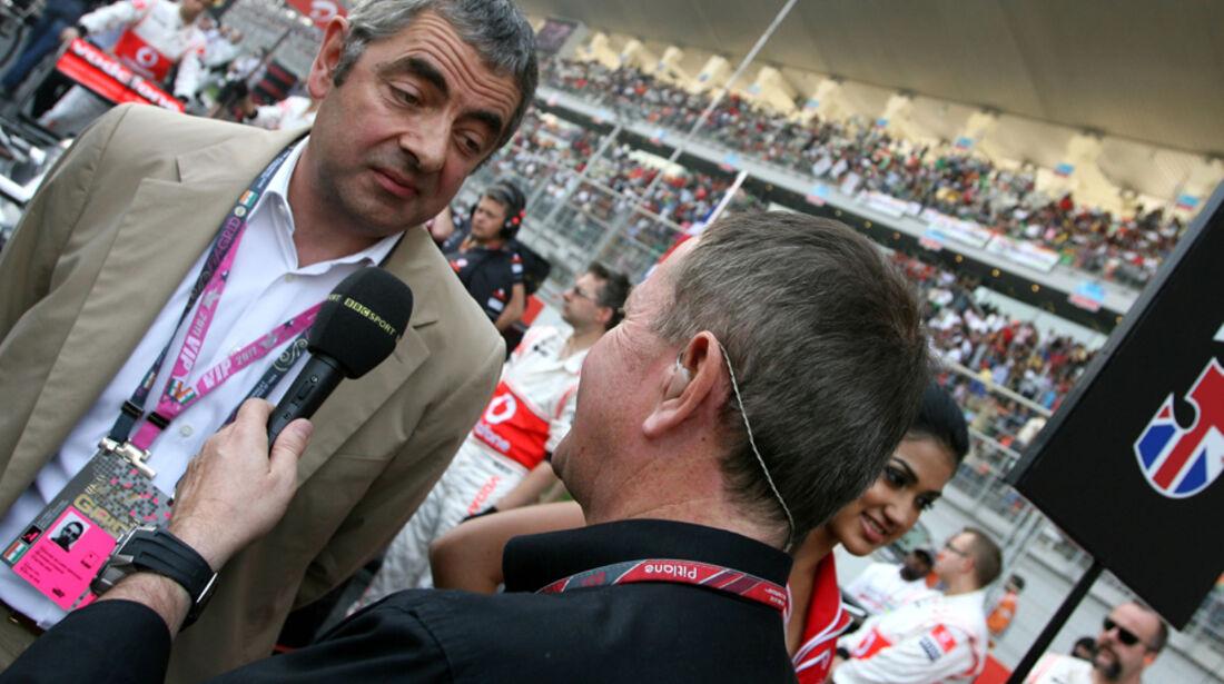Mr. Bean GP Indien 2011