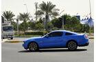 Mustang - Scheichautos - Formel 1 - GP Abu Dhabi - 03. November 2013