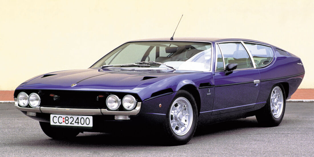 Mythos V12, Lamborghini Espada, Frontansicht