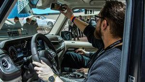 NAIAS Detroit 2018 Sitzprobe Mercedes G-Klasse