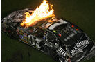 NASCAR-Feuer-Crash