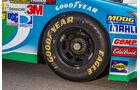NASCAR, Rad, Felge