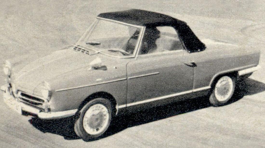 NSU, Wankel Spider, IAA 1967