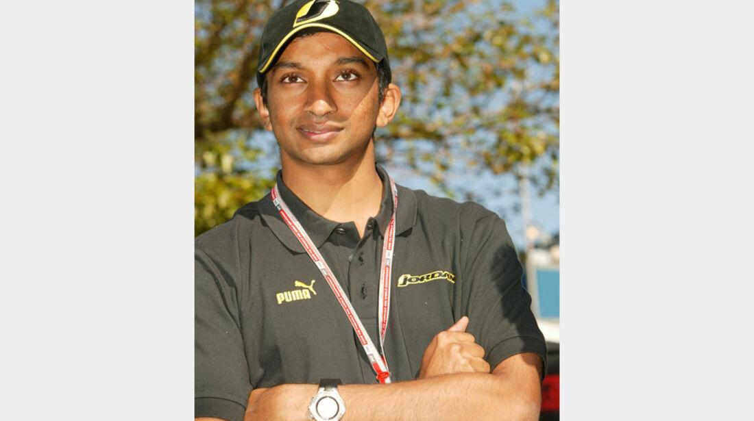 Narain Karthikeyan 2005