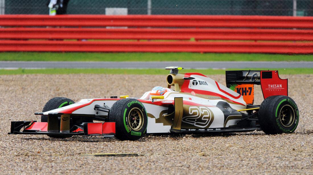 Narain Karthikeyan Formel 1 2012