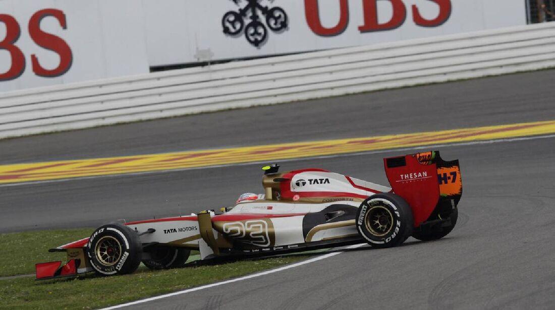 Narain Karthikeyan - Formel 1 - GP Deutschland - 21. Juli 2012