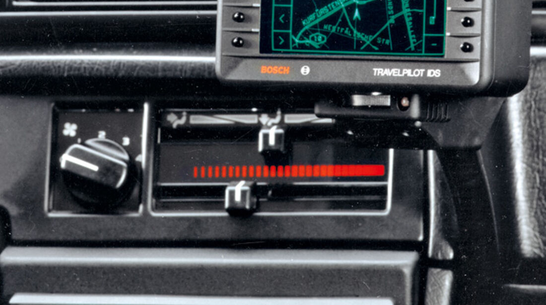Navigation IDS Blaupunkt 1989