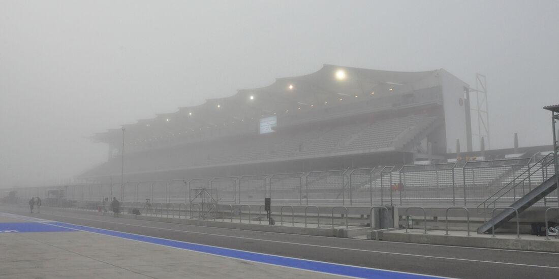 Nebel - Formel 1 - GP USA - 15. November 2013