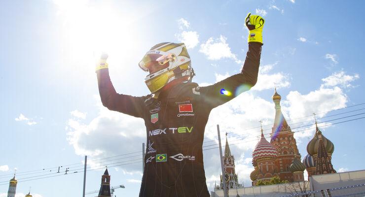 Nelson Piquet - Formel E - Moskau 2015