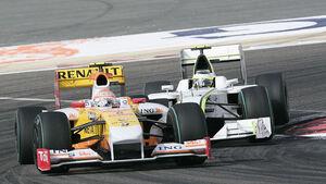 Nelson Piquet & Rubens Barrichello