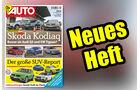 Neues Heft AUTOStrassenverkehr, Ausgabe 10/2017, Vorschau