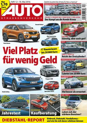 Neues Heft AUTOStrassenverkehr, Ausgabe 12/2016, Vorschau