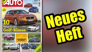 Neues Heft AUTOStrassenverkehr, Ausgabe 14/2017, Vorschau