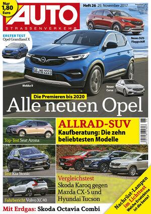 Neues Heft AUTOStrassenverkehr, Ausgabe 26/2017, Vorschau