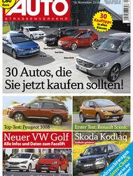 Neues Heft, AUTOstrassenverkehr, Ausgabe 25/2016, Vorschau