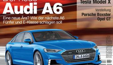 Neues Heft, auto motor und sport, Ausgabe 04/2016, Vorschau, Preview