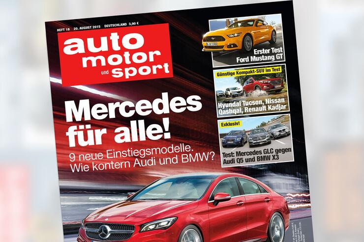 Neues Heft auto motor und sport Heft 18 Titel Vorschau Heftvorschau