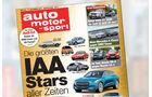 Neues Heft, auto motor und sport, Heft 20/2015, Vorschau, Preview