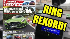 Neues Heft sport auto, Ausgabe 1/2017, Vorschau