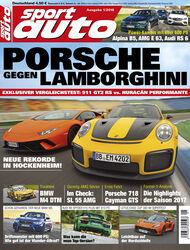 Neues Heft sport auto, Ausgabe 1/2018, Heftvorschau