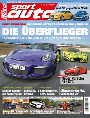 Neues Heft sport auto, Ausgabe 4/2017, Vorschau, Preview