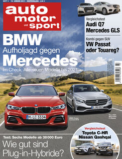 Neues auto motor und sport, Ausgabe 3/2017, Vorschau