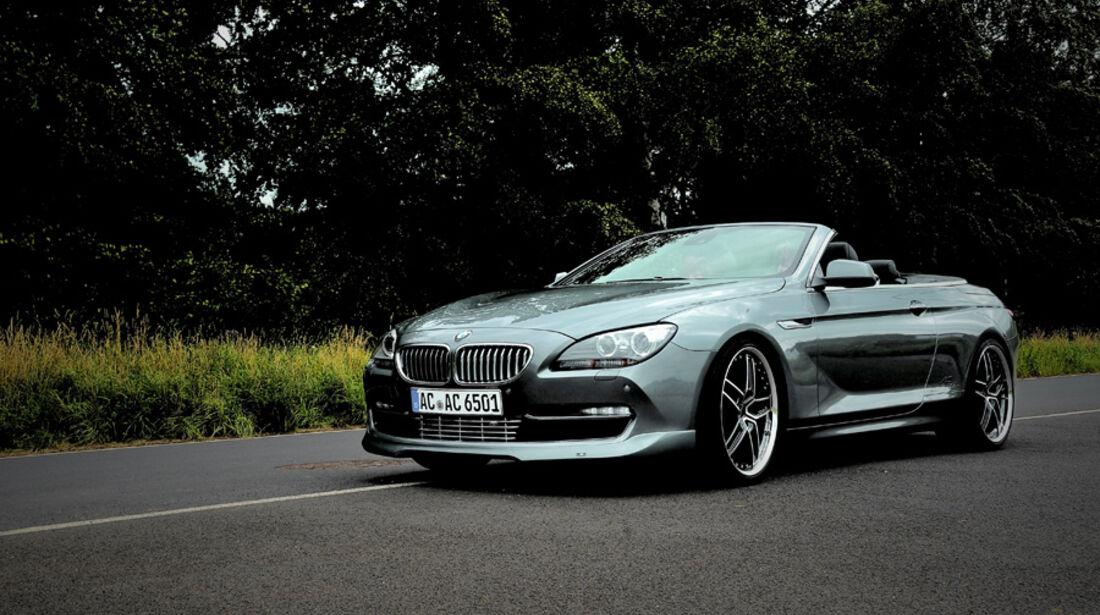 Neuheiten auf der IAA 2011 - AC Schnitzer BMW 6er Cabrio