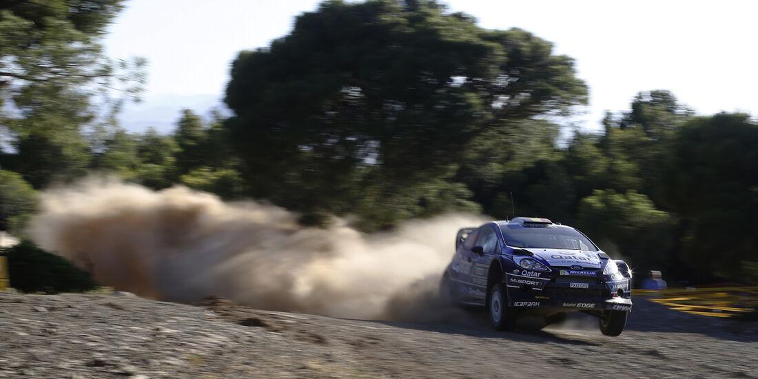 Neuville - Rallye Griechenland 2013