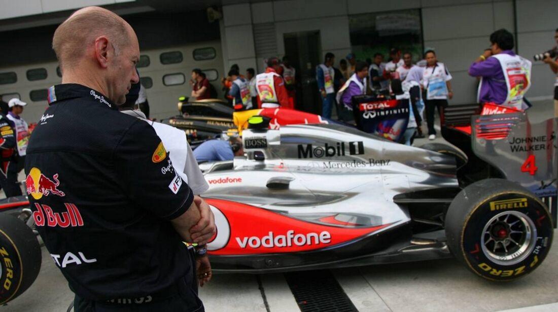 Newey GP Malaysia 2011 Formel 1