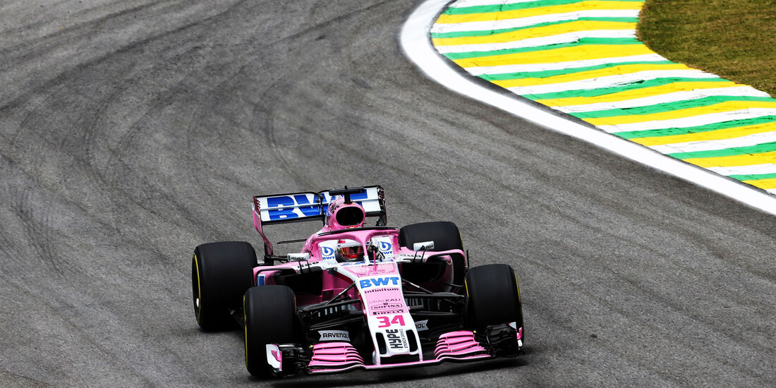 Nicholas Latifi - Force India - GP Brasilien - Interlagos - Formel 1 - Freitag - 9.11.2018