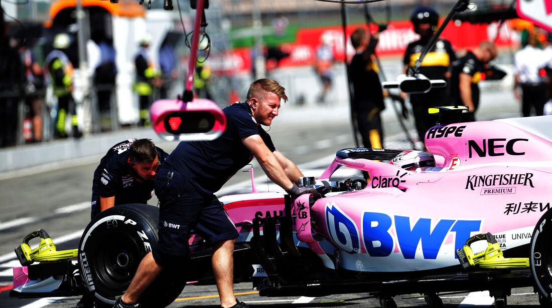 Nicholas Latifi - Force India - GP Deutschland - Hockenheim - Formel 1 - Freitag - 20.7.2018