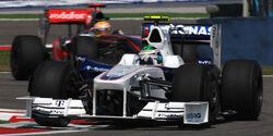 Nick Heidfeld & Lewis Hamilton
