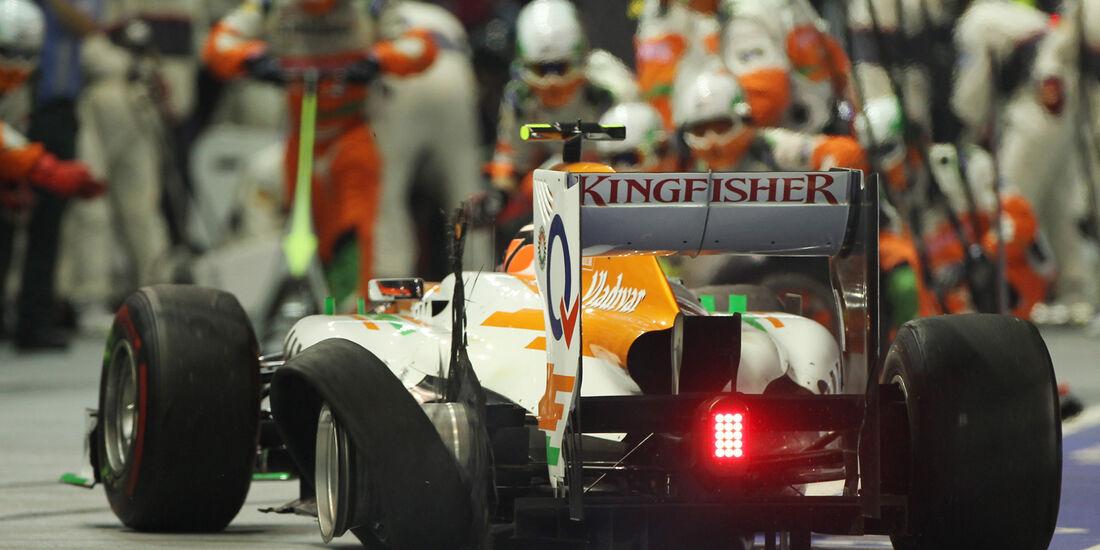 Nico Hülkenberg F1 Singapur 2012