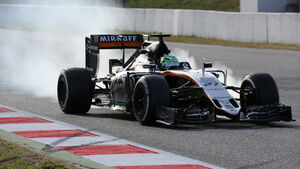 Nico Hülkenberg - Force India - Barcelona - Formel 1-Test - 1. März 2016