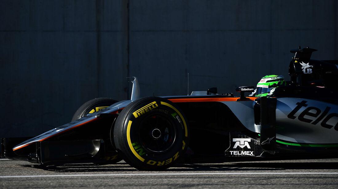 Nico Hülkenberg - Force India - Formel 1 - Austin - GP USA - 22. Oktober 2016