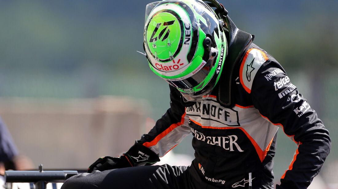 Nico Hülkenberg - Force India - Formel 1 - GP Belgien - Spa-Francorchamps - 27. August 2016