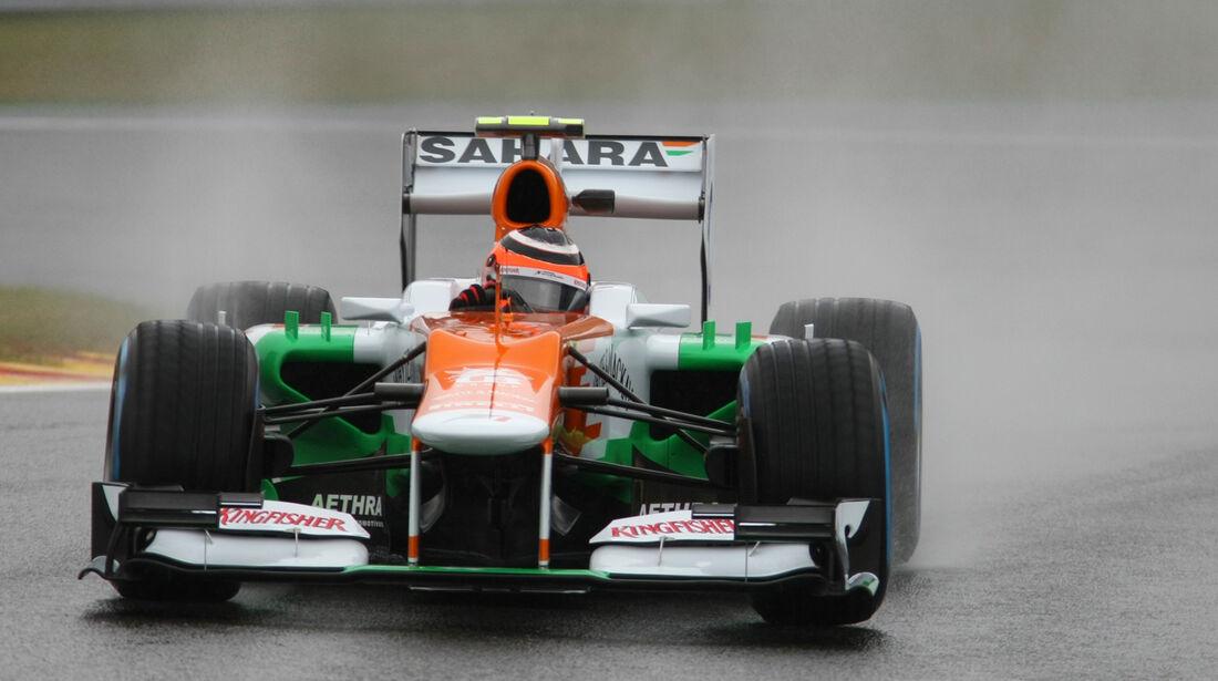 Nico Hülkenberg - Force India - Formel 1 - GP Belgien - Spa-Francorchamps - 31. August 2012