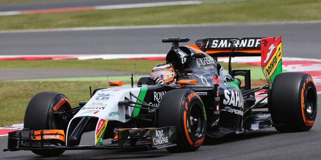 Nico Hülkenberg - Force India - Formel 1 - GP England - Silverstone - 4. Juli 2014