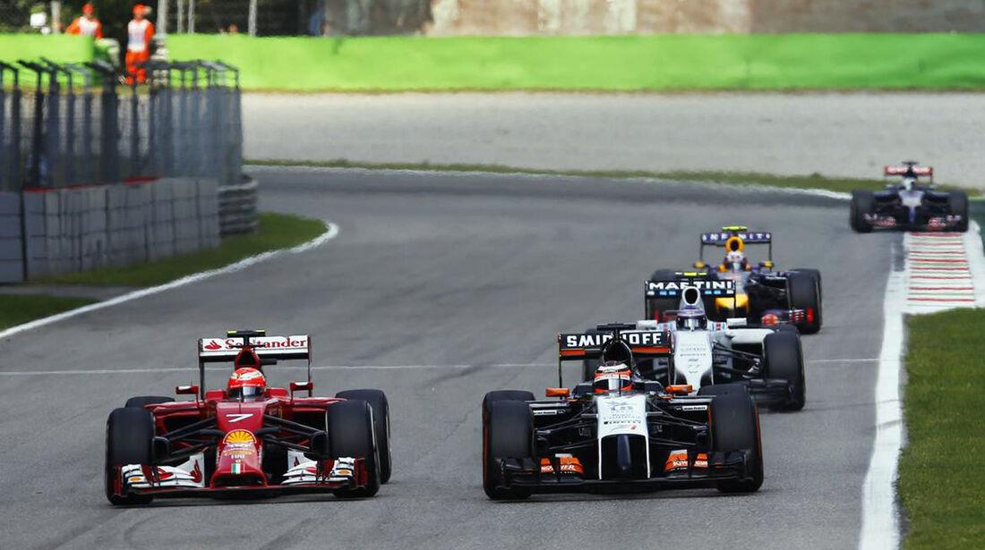 Nico Hülkenberg - Force India  - Formel 1 - GP Italien - 7. September 2014