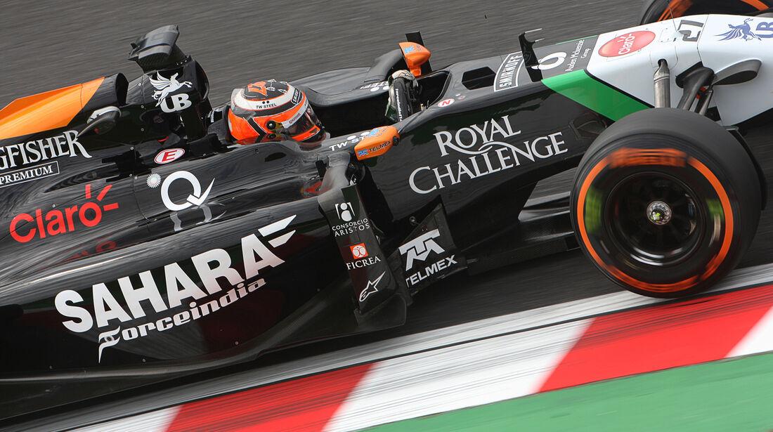 Nico Hülkenberg - Force India - Formel 1 - GP Japan - 3. Oktober 2014