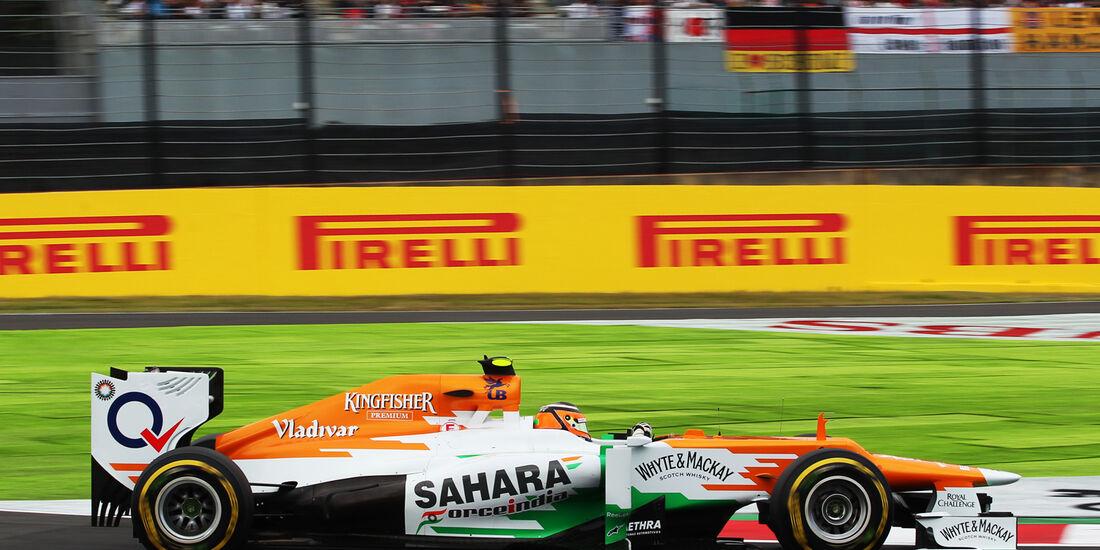 Nico Hülkenberg - Force India - Formel 1 - GP Japan - Suzuka - 6. Oktober 2012